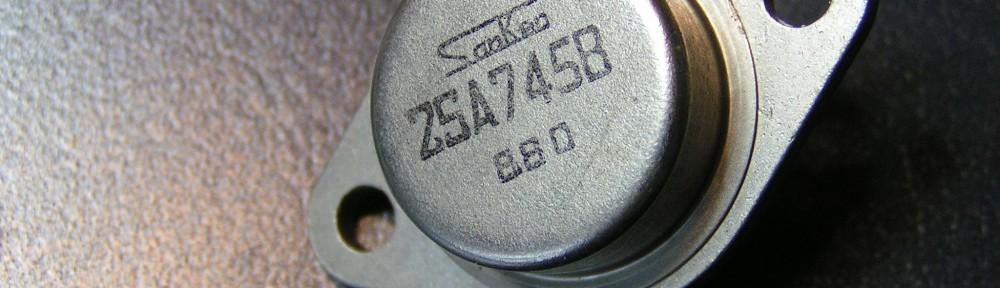 Transistor 2SA 745B