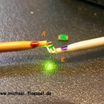 Polarität SMD LED