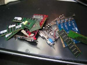 Hardware auf dem Haufen :-D