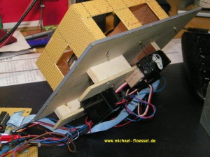 Modell KFZ Werkstatt in 1:87 - Unterseite