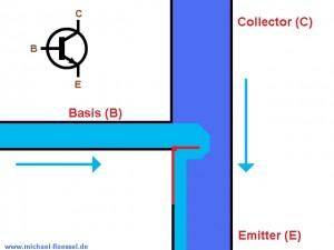 Trasnsistor offen