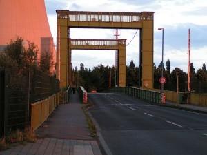 Hubbrücke in Walsum gesperrt
