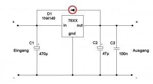 Spannungsregler 78XX - www.michael-floessel.de