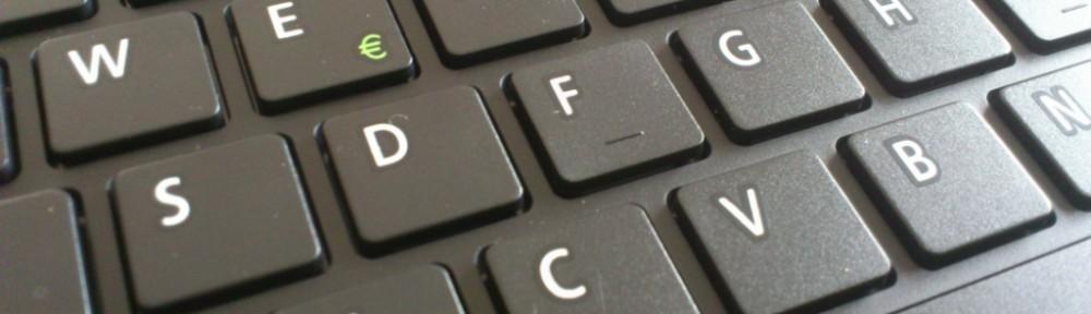 @zeichen englische tastatur