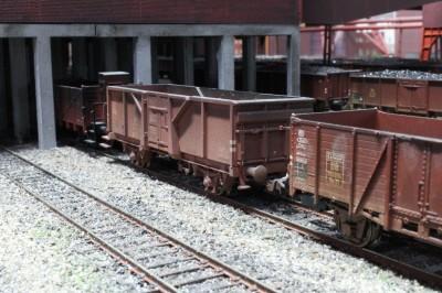 Güterwagen 1:87 Zeche Zollverein - Modellbahnwelt Odenwald