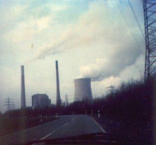 Kraftwerk Voerde, hatte damals ja keine Ahnung, dass dieses Thema 2016 recht aktuell ist... Foto um 1983.