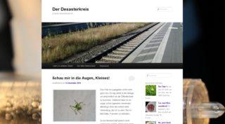 Scrrenshot desasterkreis.de