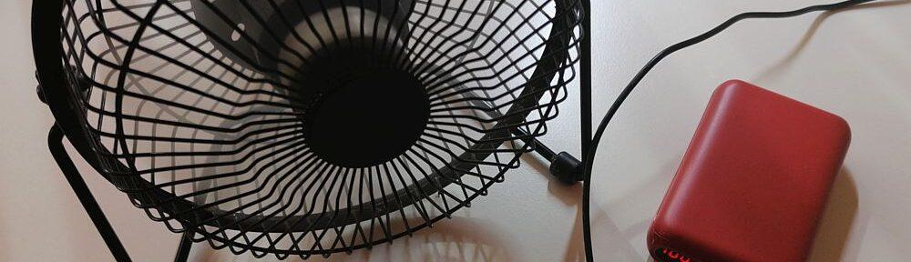 Propeller an Powerbank